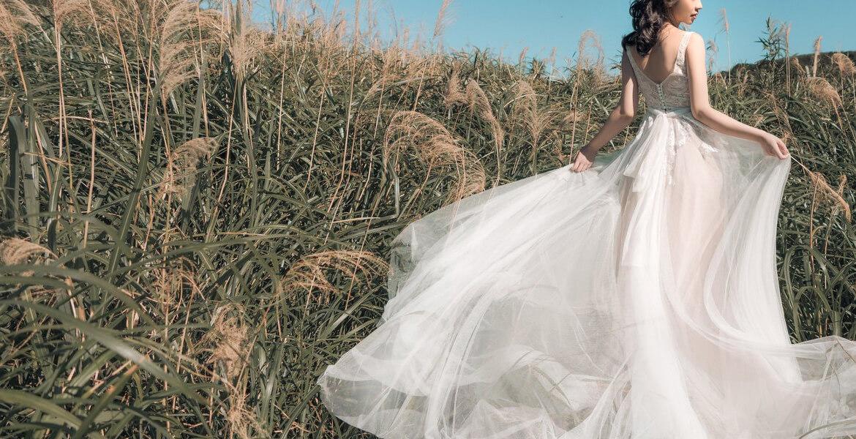 新娘手工婚紗禮服
