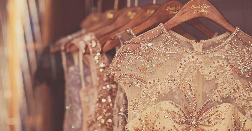 Just Hsu Wedding X 自創品牌 Esmeralda高級訂製禮服