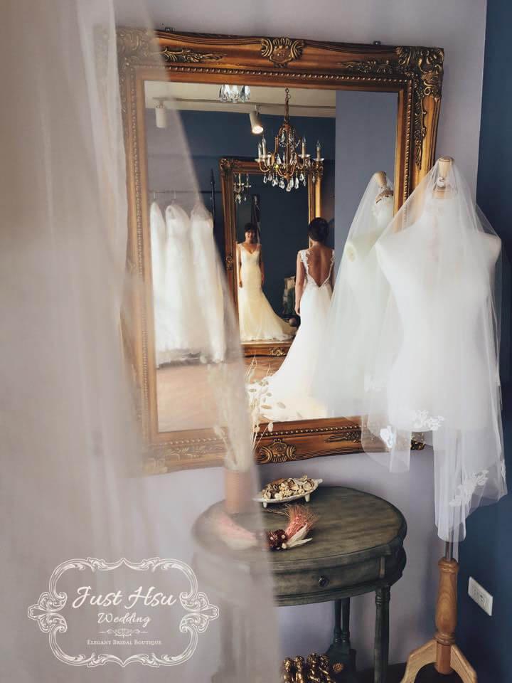 手工婚紗禮服
