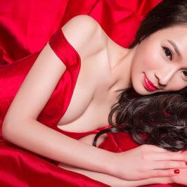 紅色晚禮服分享