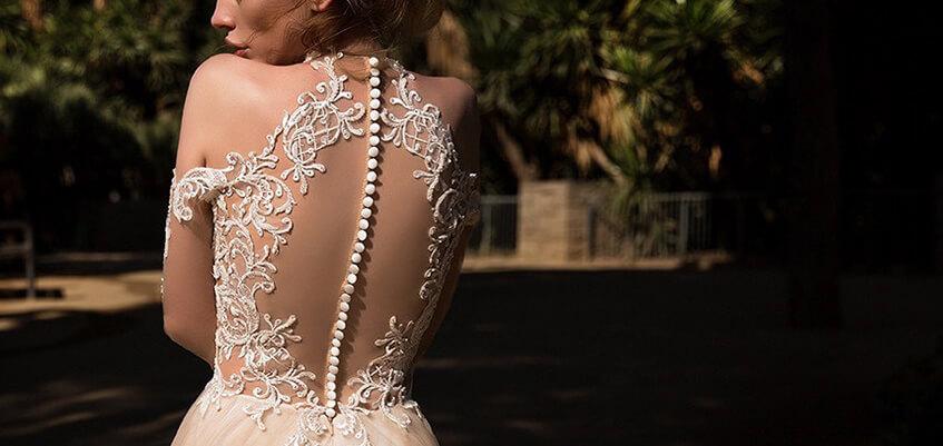 婚紗禮服,領口挑選,手工婚紗