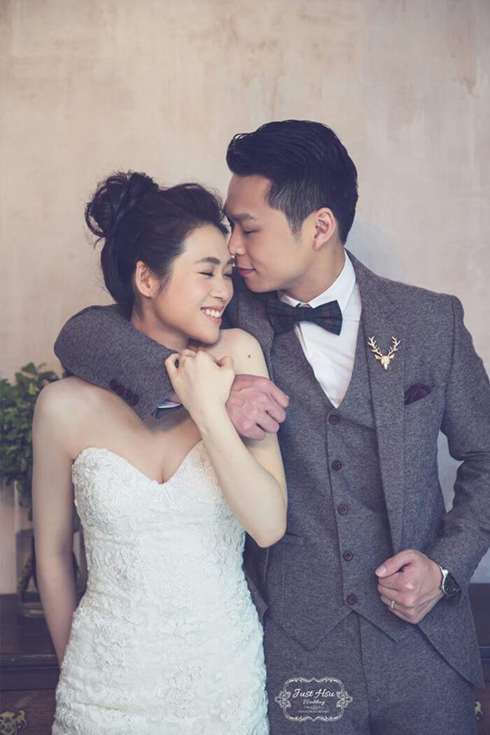 婚紗攝影 魚尾白紗