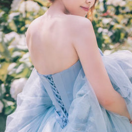 身型挑婚紗 手工禮服