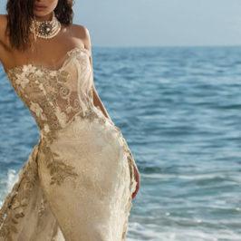 魚尾手工婚紗