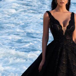 黑色禮服挑選 黑色 婚紗禮服