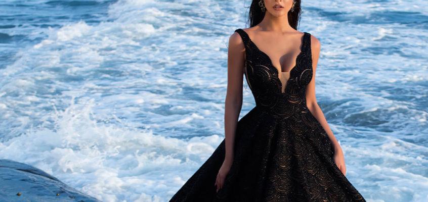 打破傳統框架的另類浪漫-黑色婚紗,穿出你的自信風格