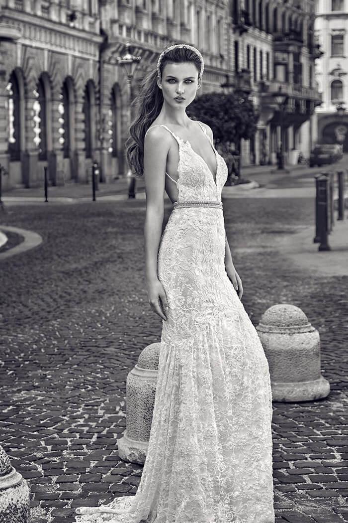 蕾絲手工婚紗禮服