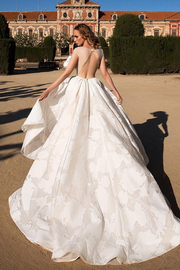 立體刺繡手工白紗