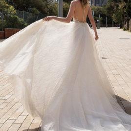 歐美手工白紗禮服