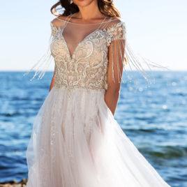 立體蕾絲手工婚紗