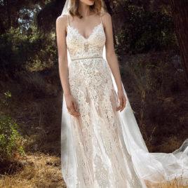 波希米亞風新娘白紗