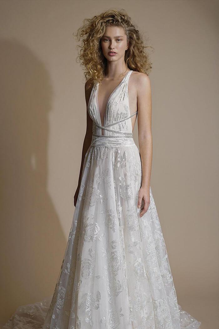 波希米亞風 手工白紗