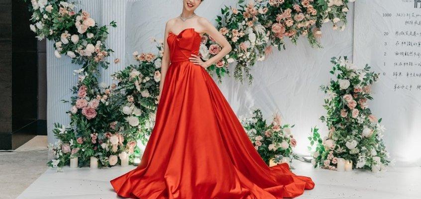 Just Hsu Wedding x 如何挑選訂婚婚宴紅色晚禮服