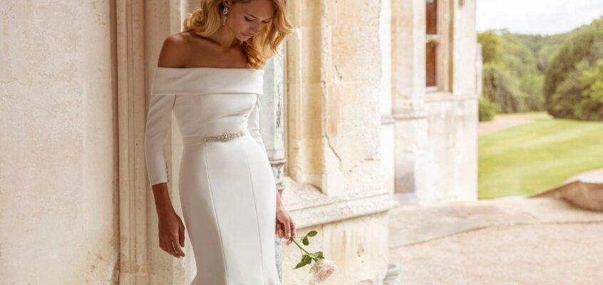2020婚紗趨勢 — 15款精選緞面婚禮婚宴白紗