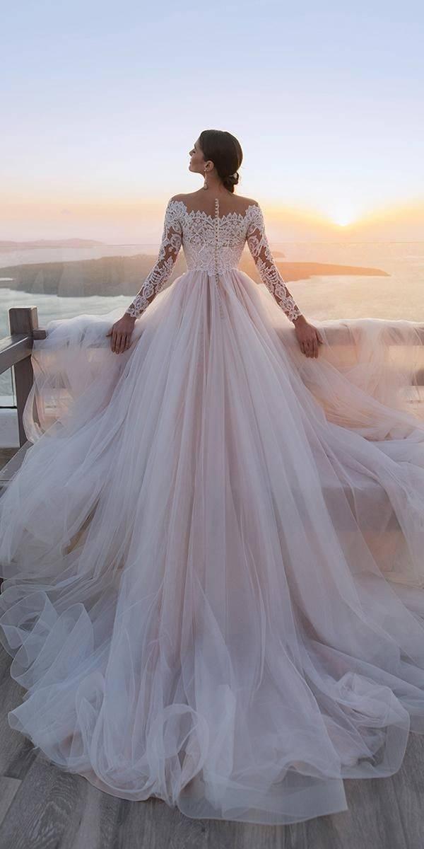 高級訂製手工婚紗-氣質爆棚的華麗裸色系 裸膚色婚紗晚禮服